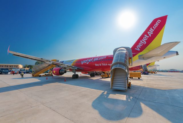 VietJet Air is one of the airlines that operate low-cost flight to Indochina