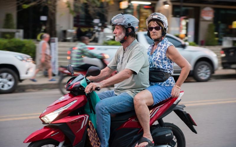 Rent motorbike in Krabi